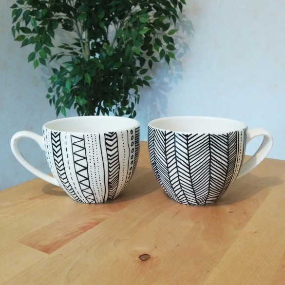 diy tasses customisation